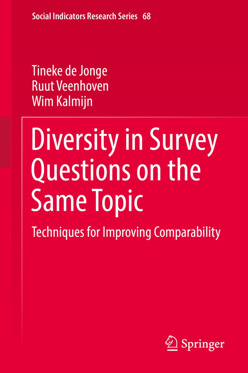 Jonge, Tineke de - Diversity in Survey Questions on the Same Topic, ebook