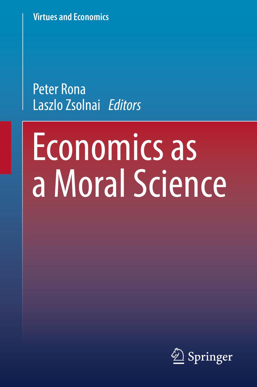 Rona, Peter - Economics as a Moral Science, ebook