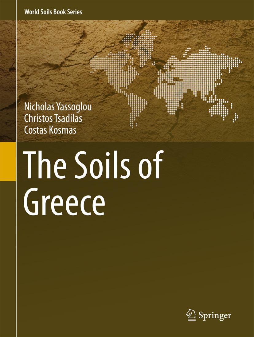 Kosmas, Costas - The Soils of Greece, ebook