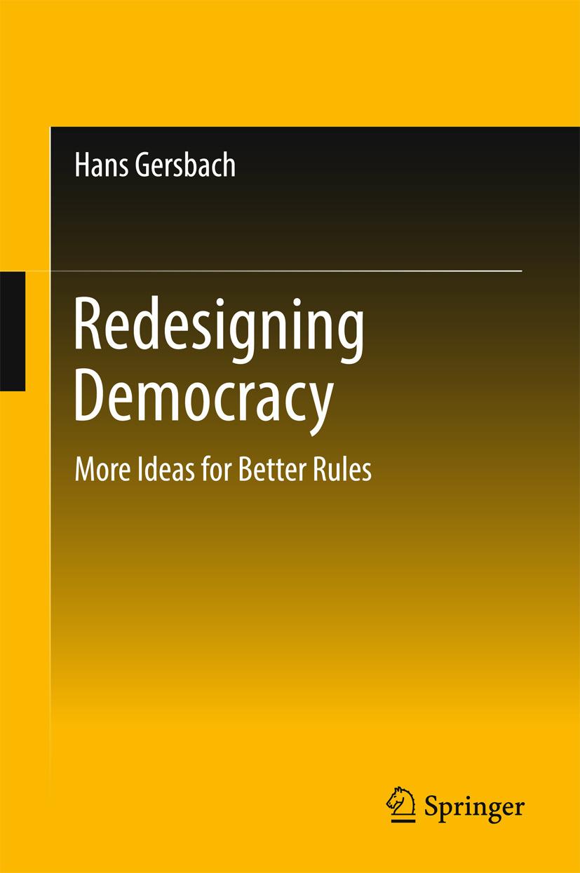 Gersbach, Hans - Redesigning Democracy, ebook