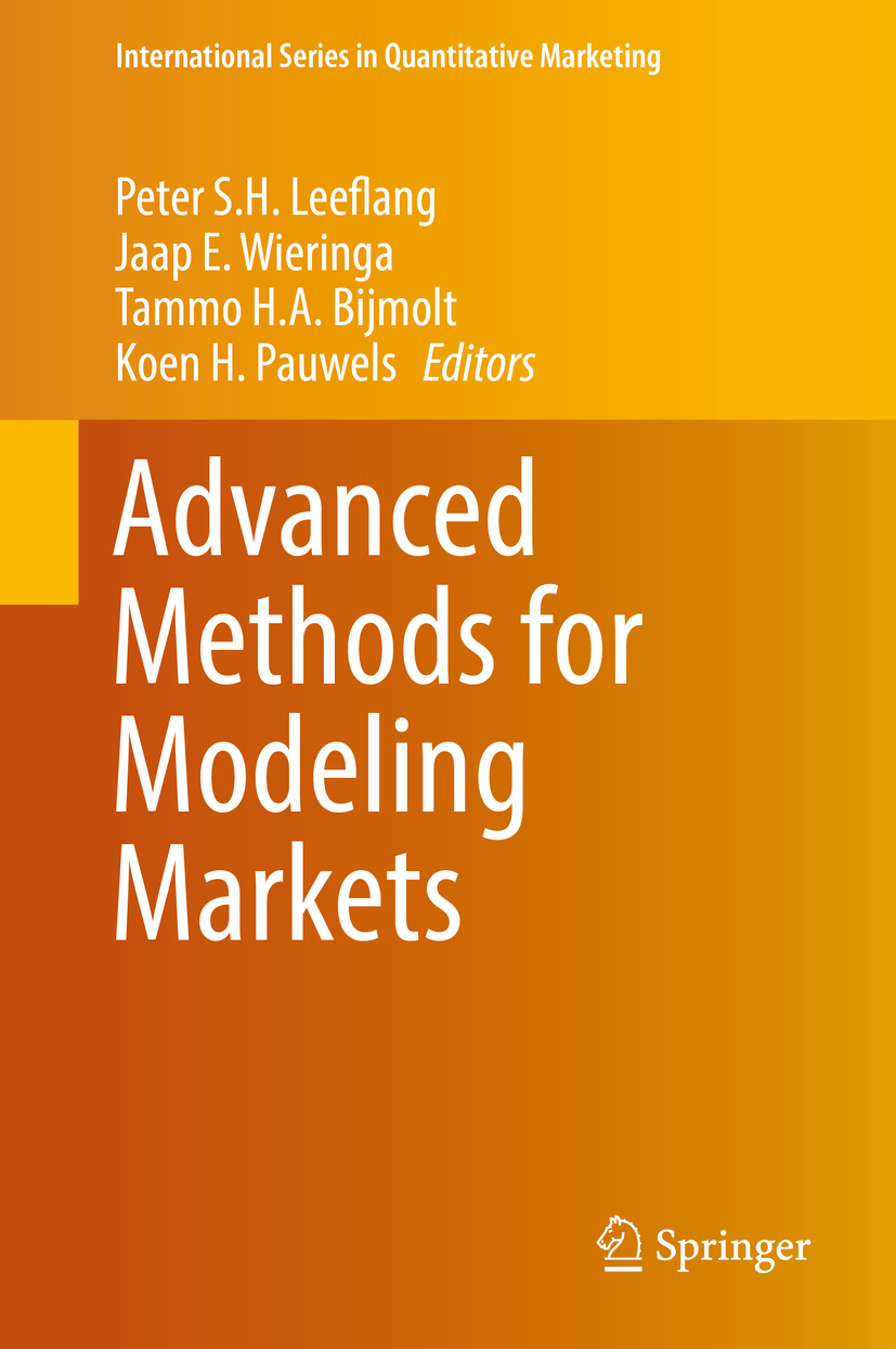 Bijmolt, Tammo H.A - Advanced Methods for Modeling Markets, ebook