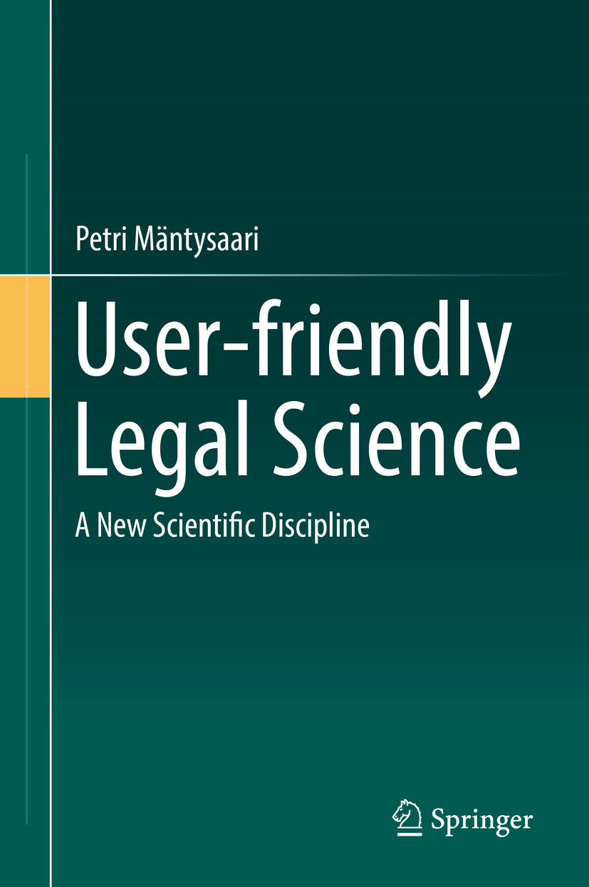 Mäntysaari, Petri - User-friendly Legal Science, ebook