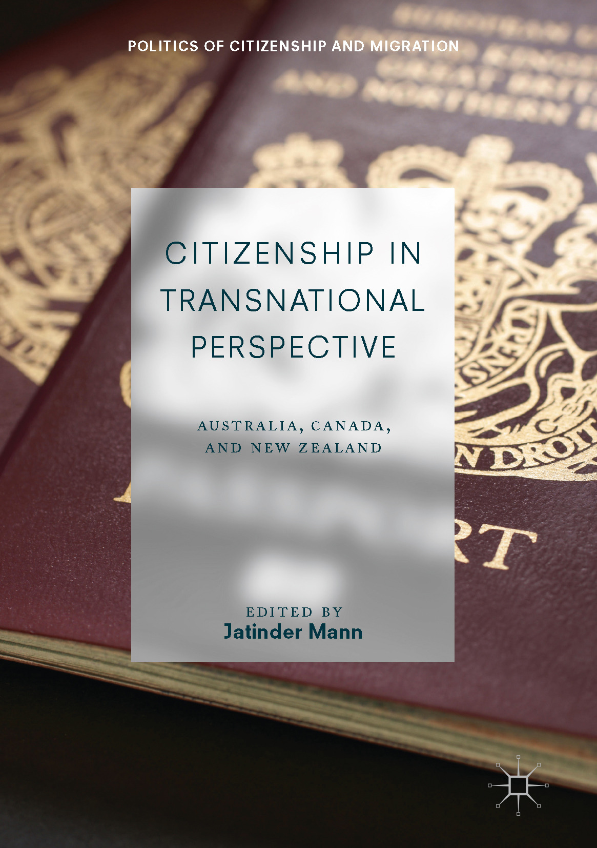 Mann, Jatinder - Citizenship in Transnational Perspective, e-bok