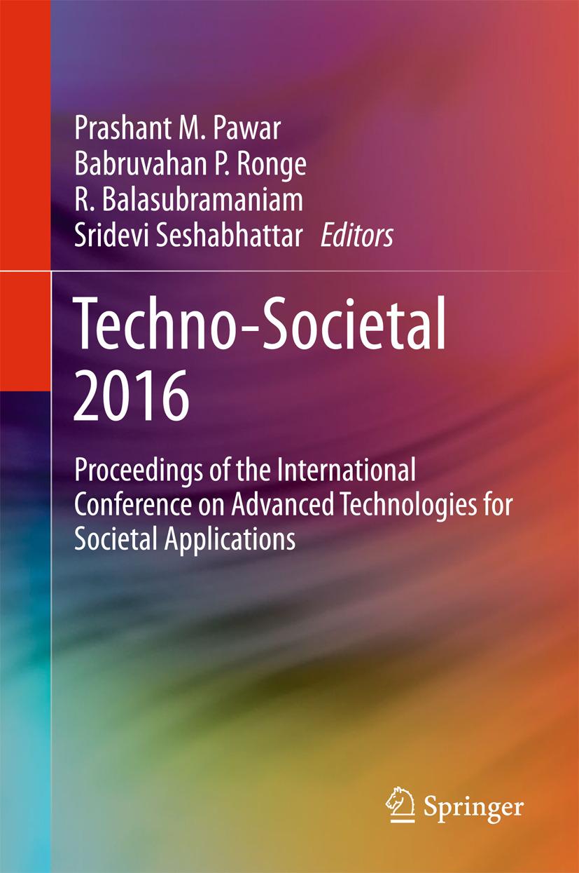 Balasubramaniam, R. - Techno-Societal 2016, ebook