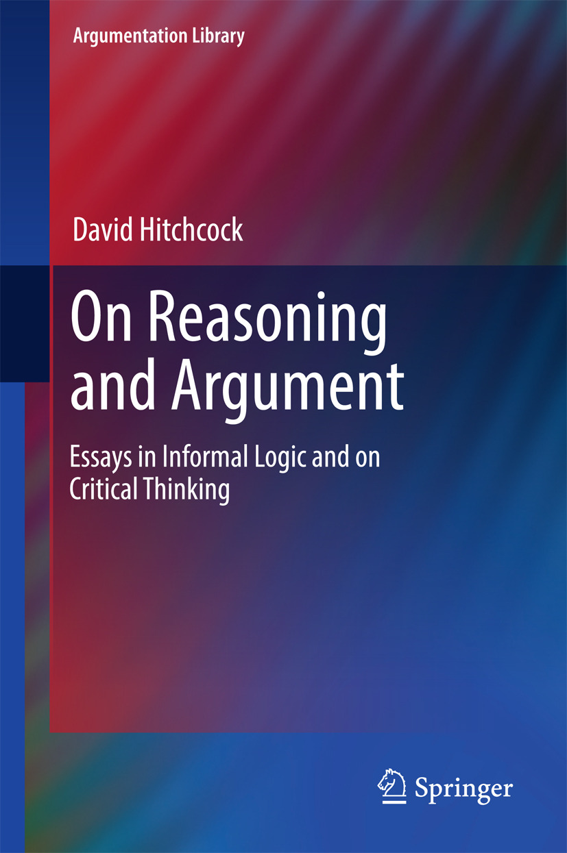 Hitchcock, David - On Reasoning and Argument, ebook