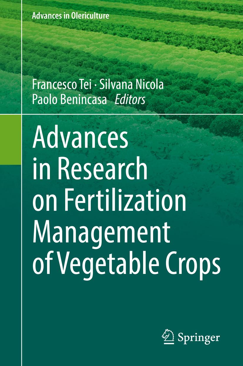 Benincasa, Paolo - Advances in Research on Fertilization Management of Vegetable Crops, ebook