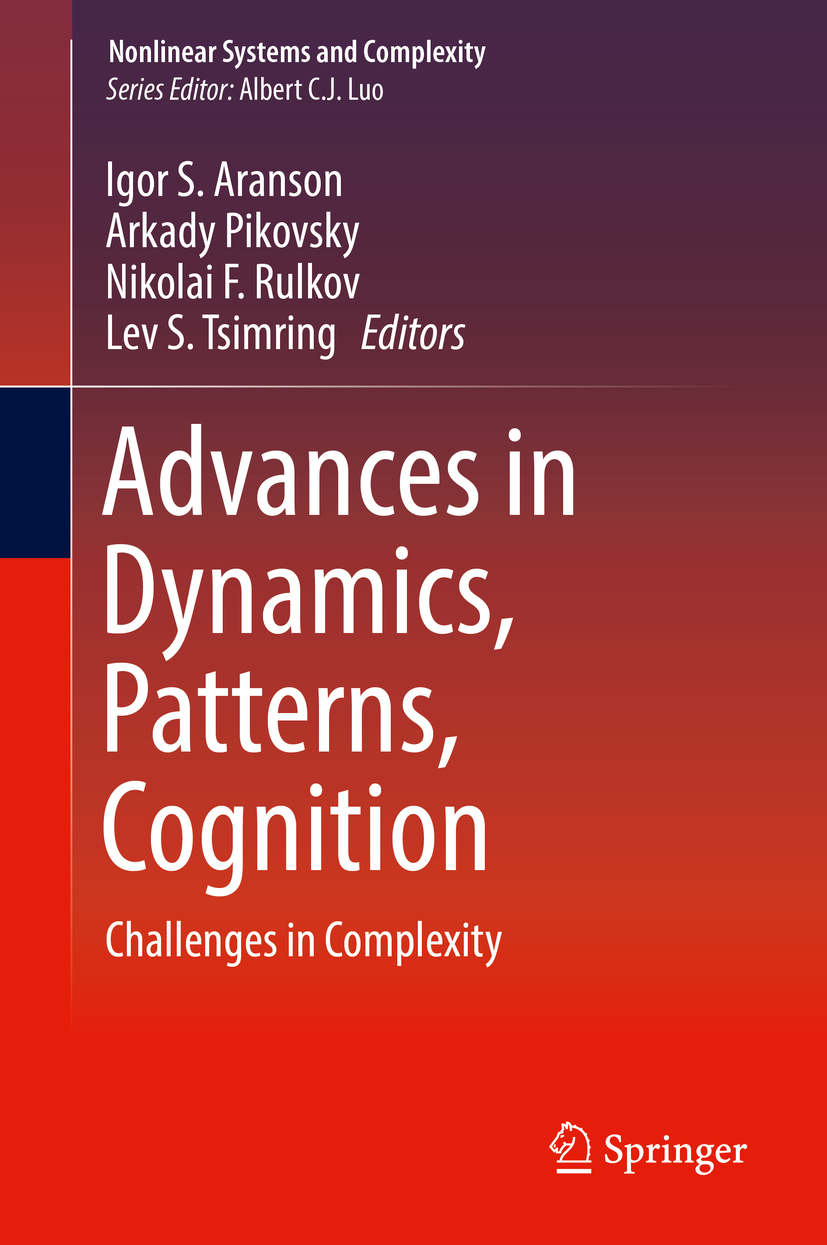 Aranson, Igor S. - Advances in Dynamics, Patterns, Cognition, ebook