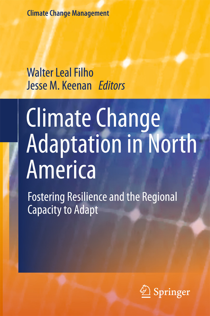 Filho, Walter Leal - Climate Change Adaptation in North America, ebook