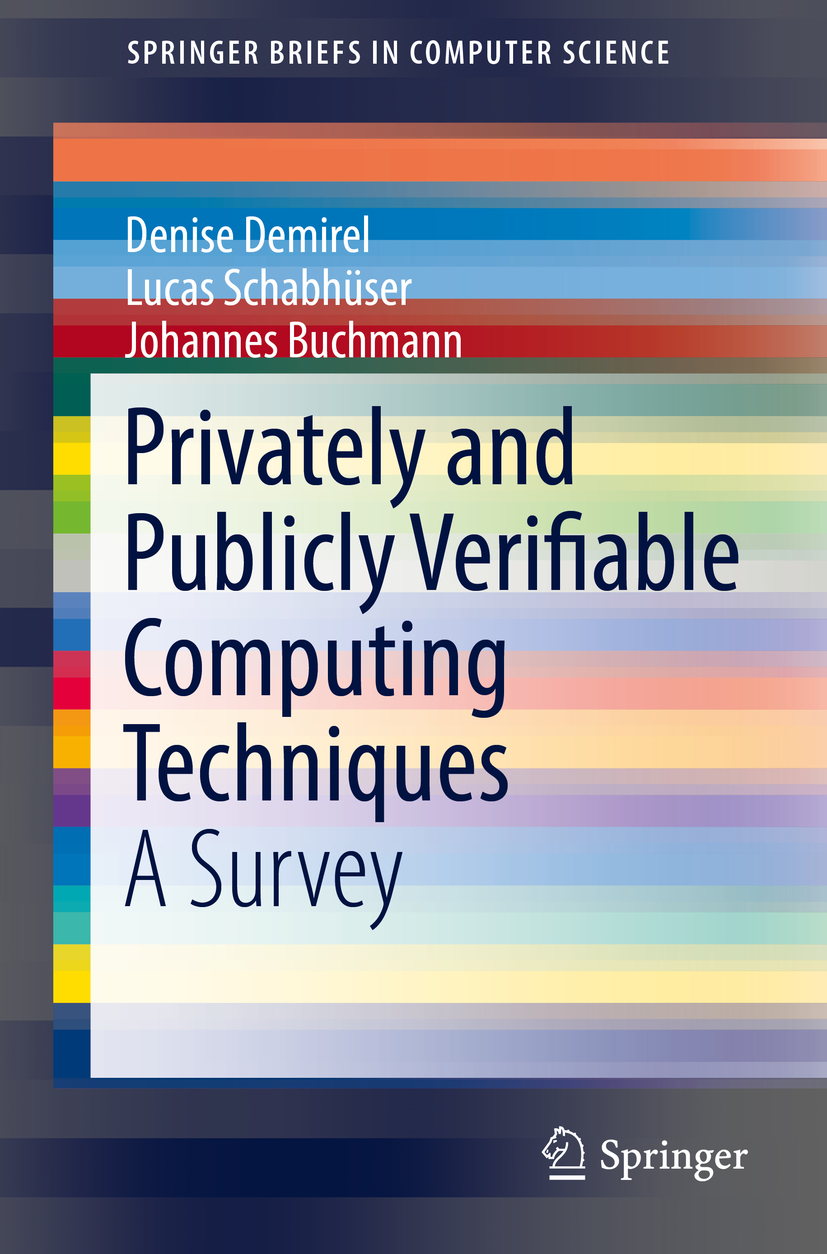 Buchmann, Johannes - Privately and Publicly Verifiable Computing Techniques, ebook