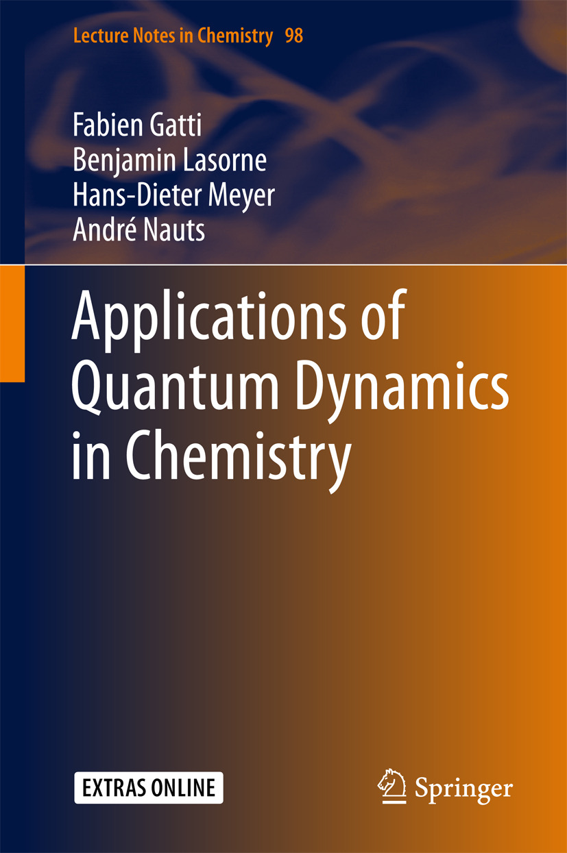Gatti, Fabien - Applications of Quantum Dynamics in Chemistry, ebook