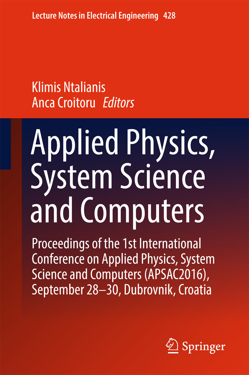 Croitoru, Anca - Applied Physics, System Science and Computers, ebook