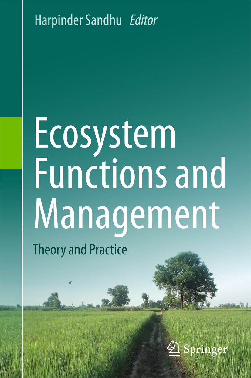 Sandhu, Harpinder - Ecosystem Functions and Management, ebook