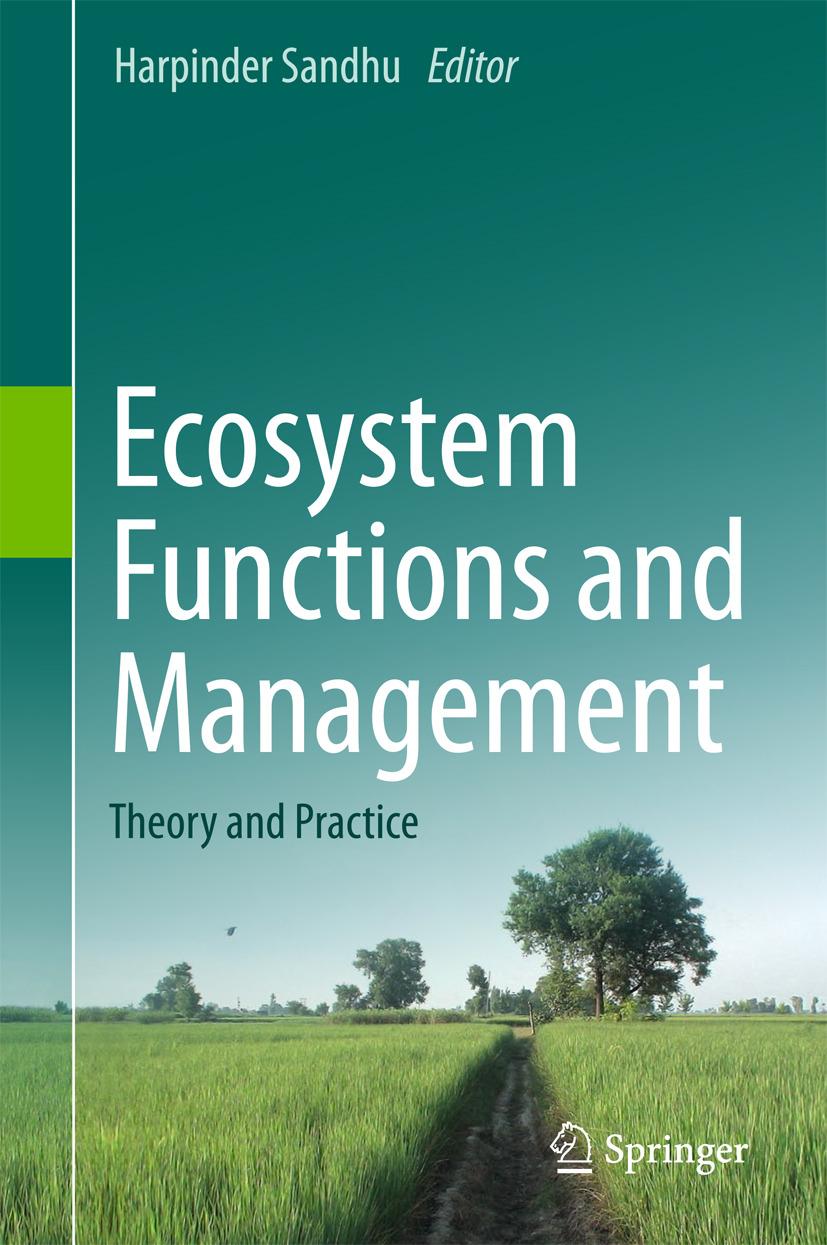 Sandhu, Harpinder - Ecosystem Functions and Management, ebook