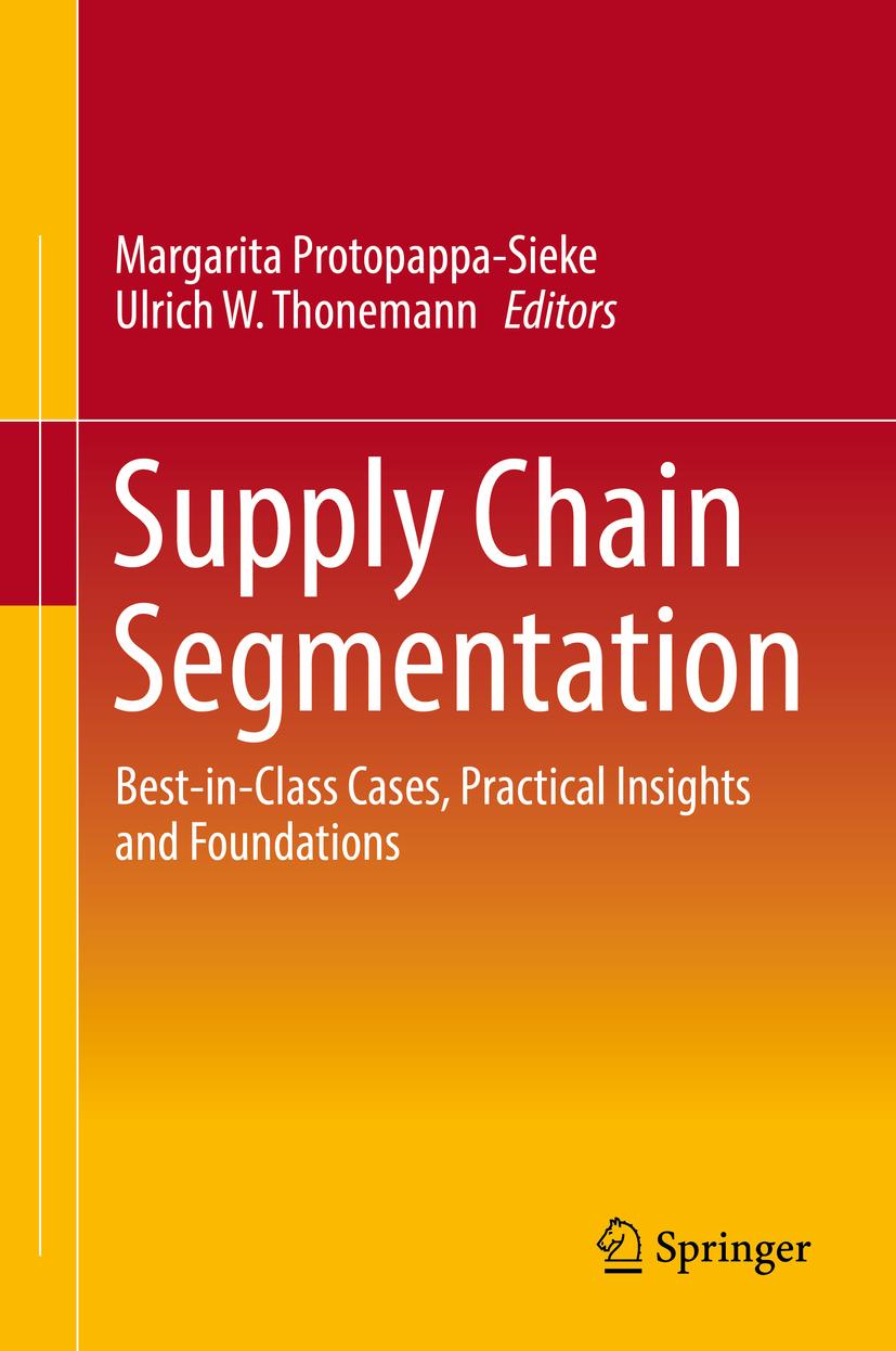 Protopappa-Sieke, Margarita - Supply Chain Segmentation, ebook