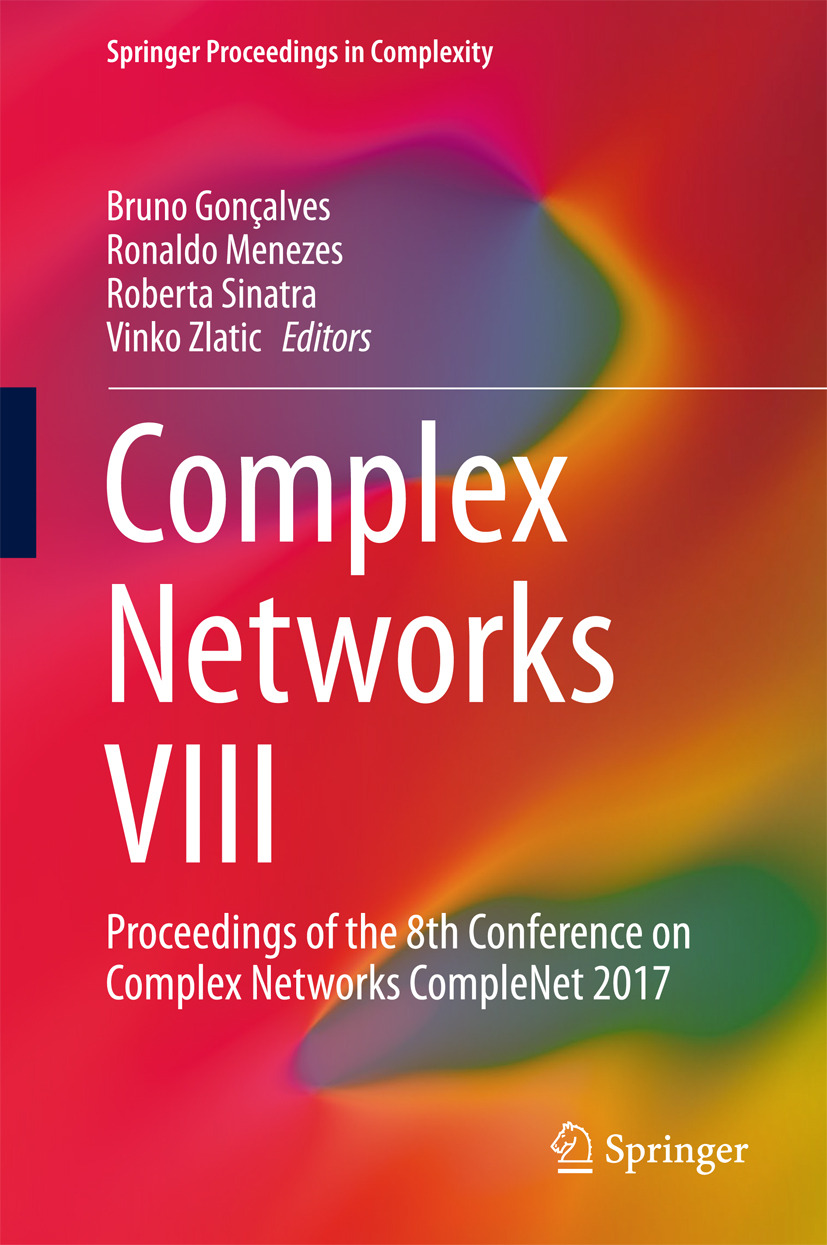 Gonçalves, Bruno - Complex Networks VIII, ebook
