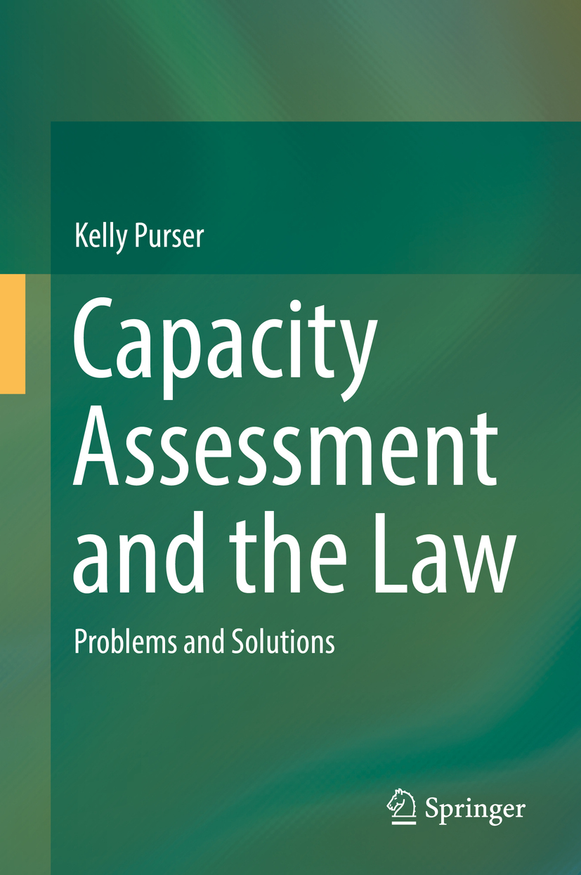 Purser, Kelly - Capacity Assessment and the Law, ebook