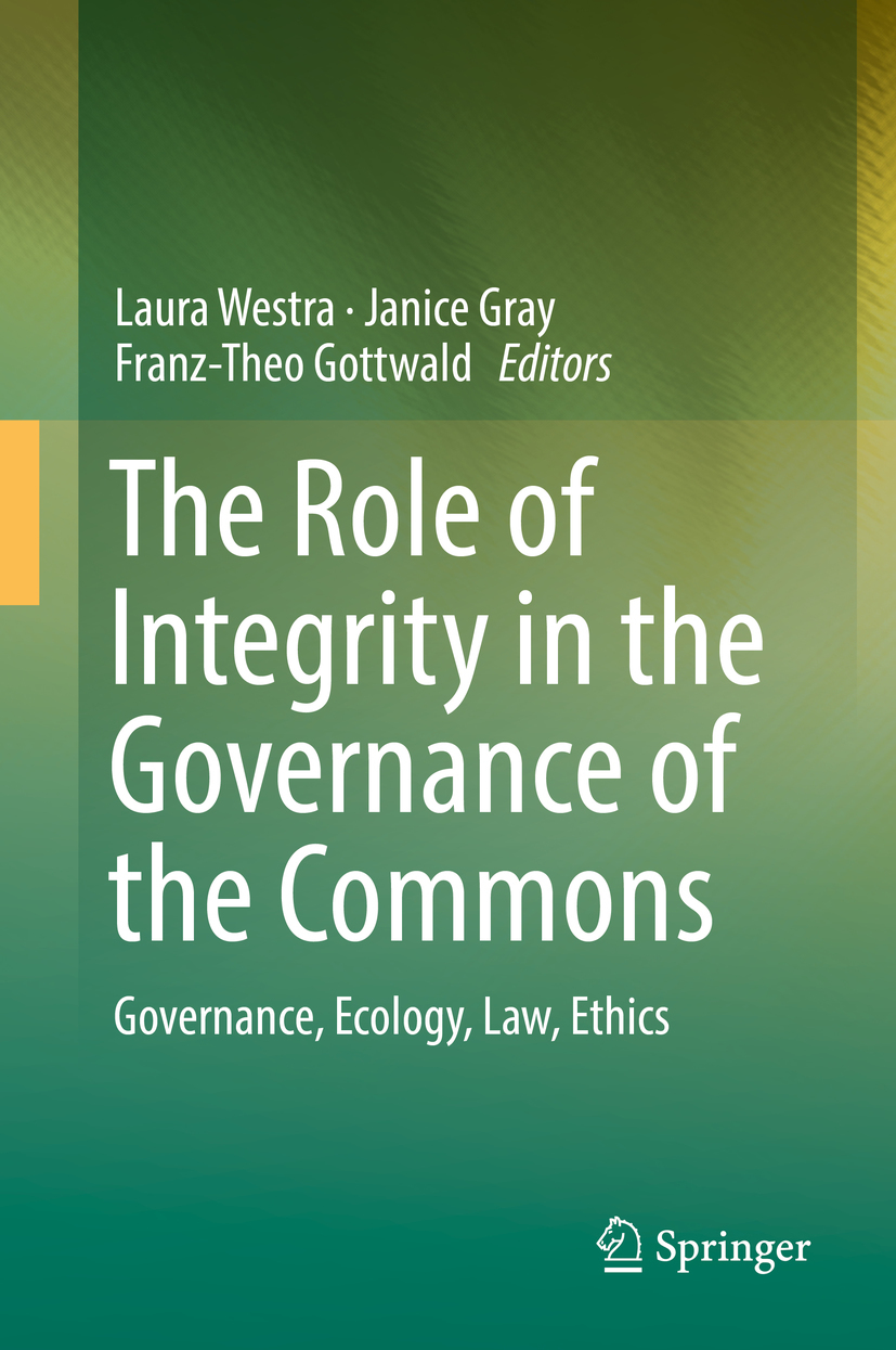 Gottwald, Franz-Theo - The Role of Integrity in the Governance of the Commons, ebook