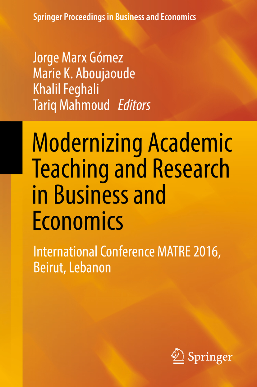 Aboujaoude, Marie K. - Modernizing Academic Teaching and Research in Business and Economics, ebook