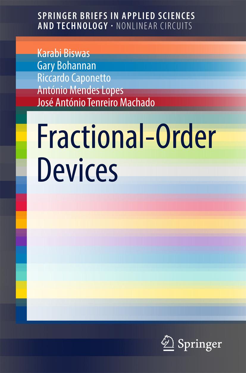 Biswas, Karabi - Fractional-Order Devices, ebook