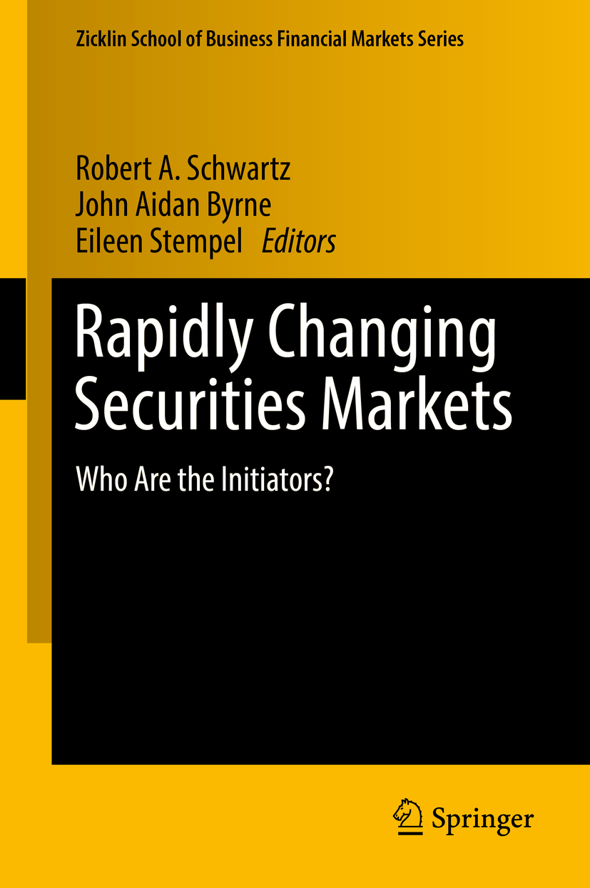 Byrne, John Aidan - Rapidly Changing Securities Markets, ebook