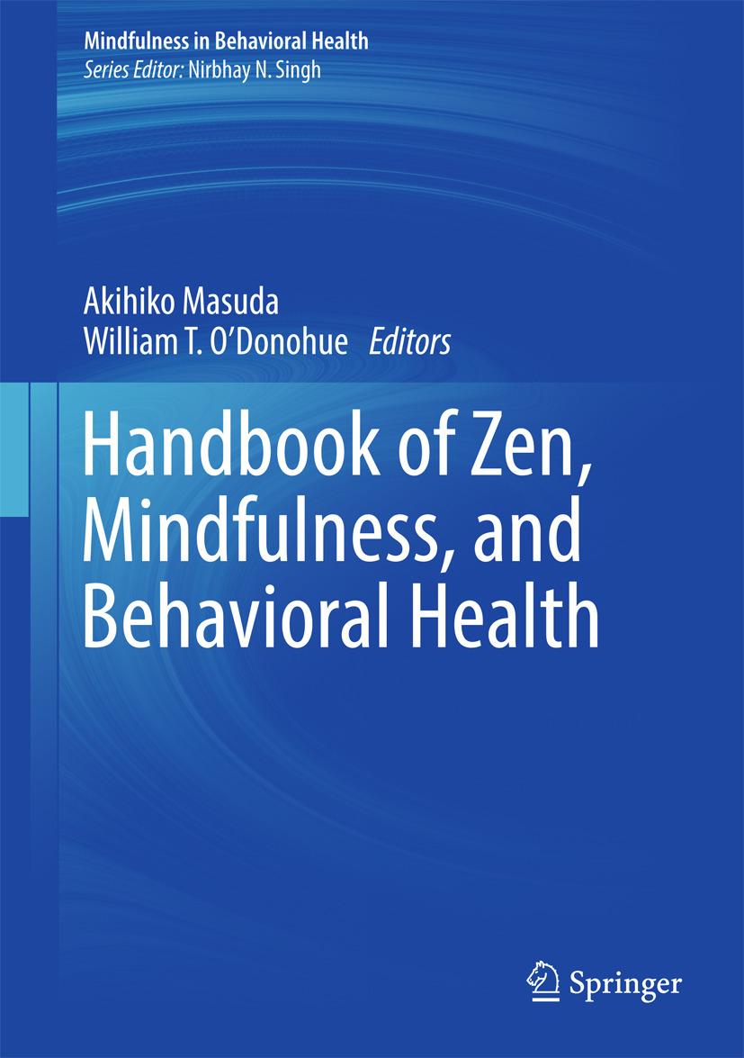 Masuda, Akihiko - Handbook of Zen, Mindfulness, and Behavioral Health, ebook