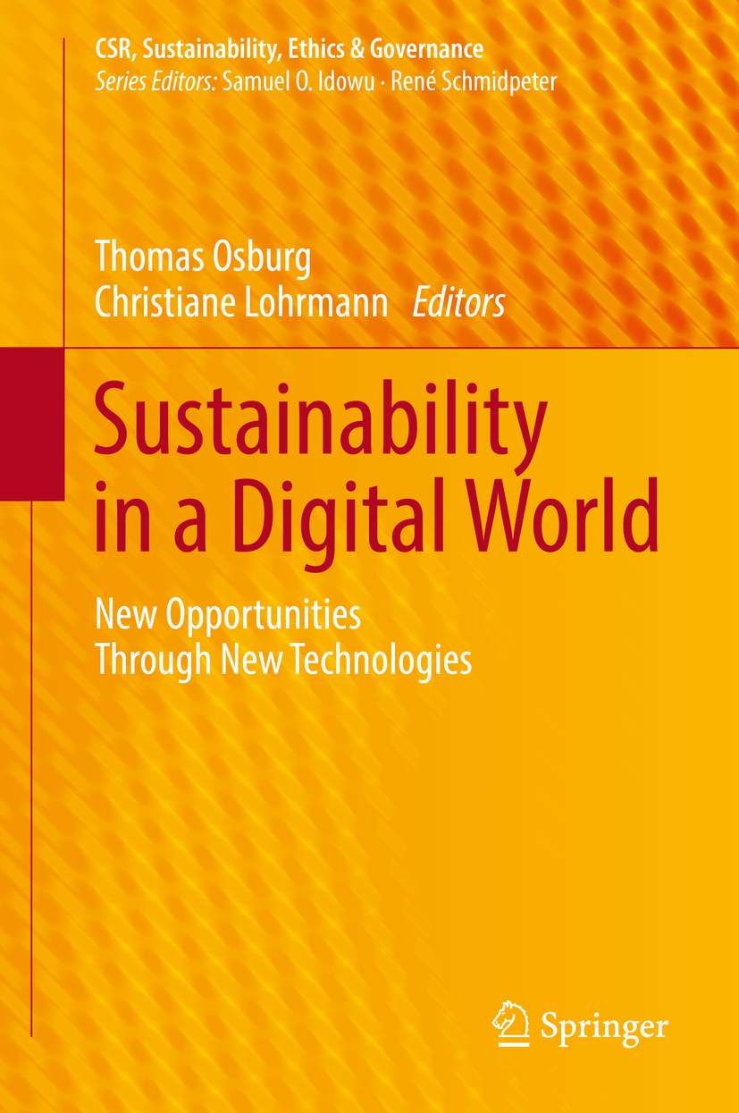 Lohrmann, Christiane - Sustainability in a Digital World, ebook