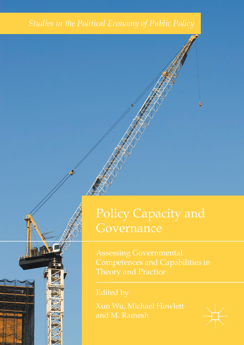 Howlett, Michael - Policy Capacity and Governance, ebook