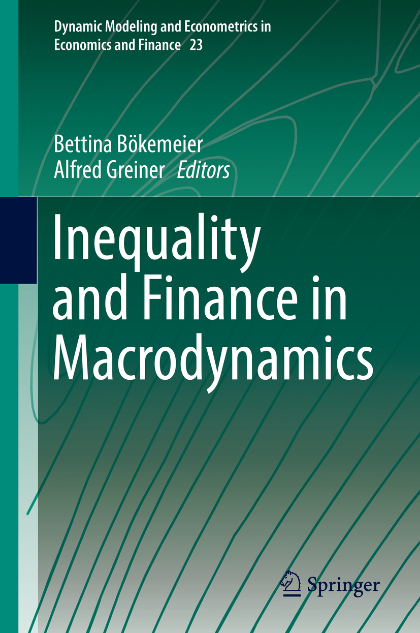 Bökemeier, Bettina - Inequality and Finance in Macrodynamics, ebook