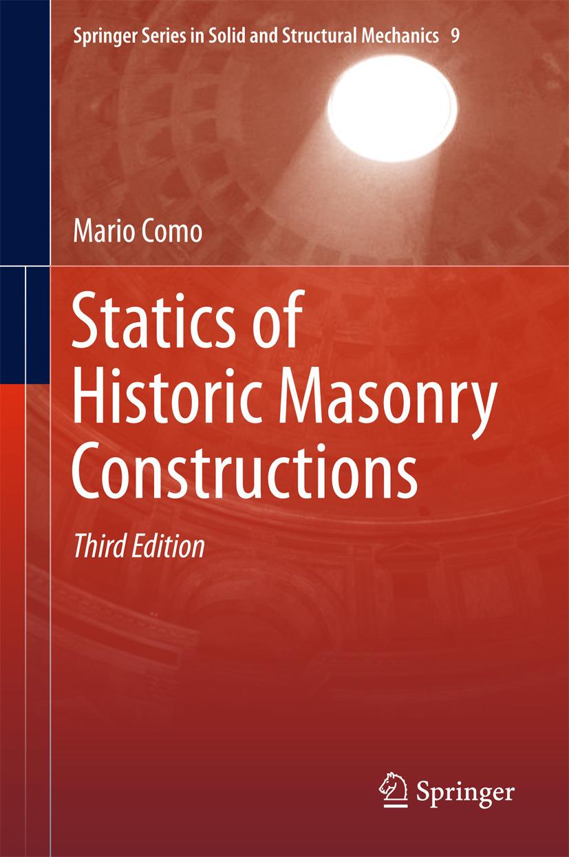 Como, Mario - Statics of Historic Masonry Constructions, ebook
