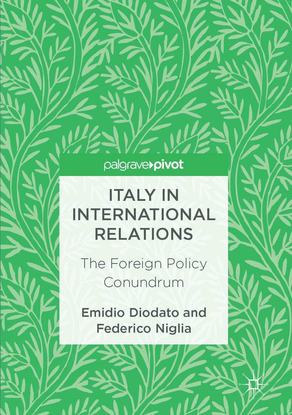 Diodato, Emidio - Italy in International Relations, ebook