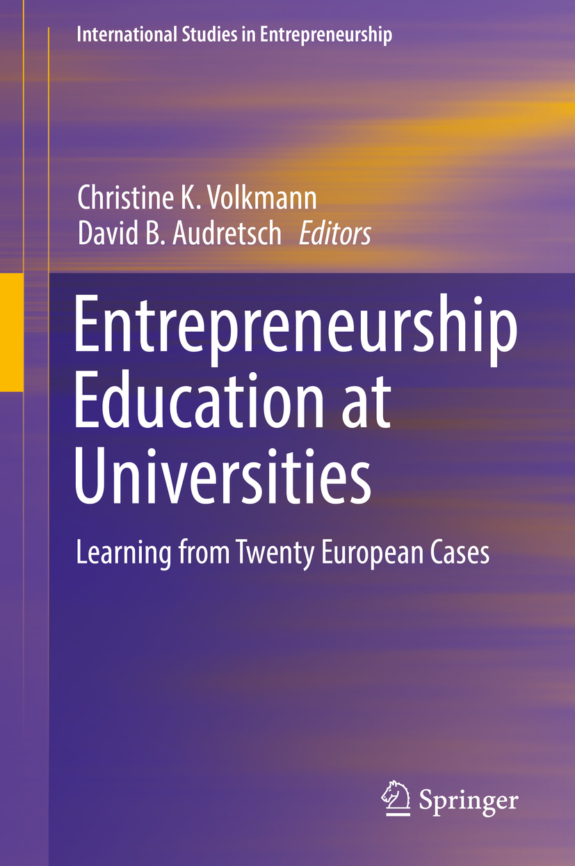 Audretsch, David B. - Entrepreneurship Education at Universities, ebook