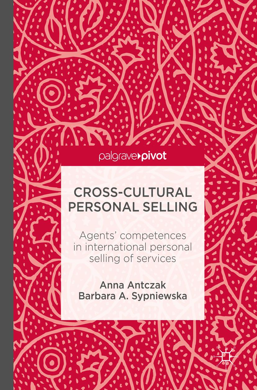 Antczak, Anna - Cross-Cultural Personal Selling, ebook