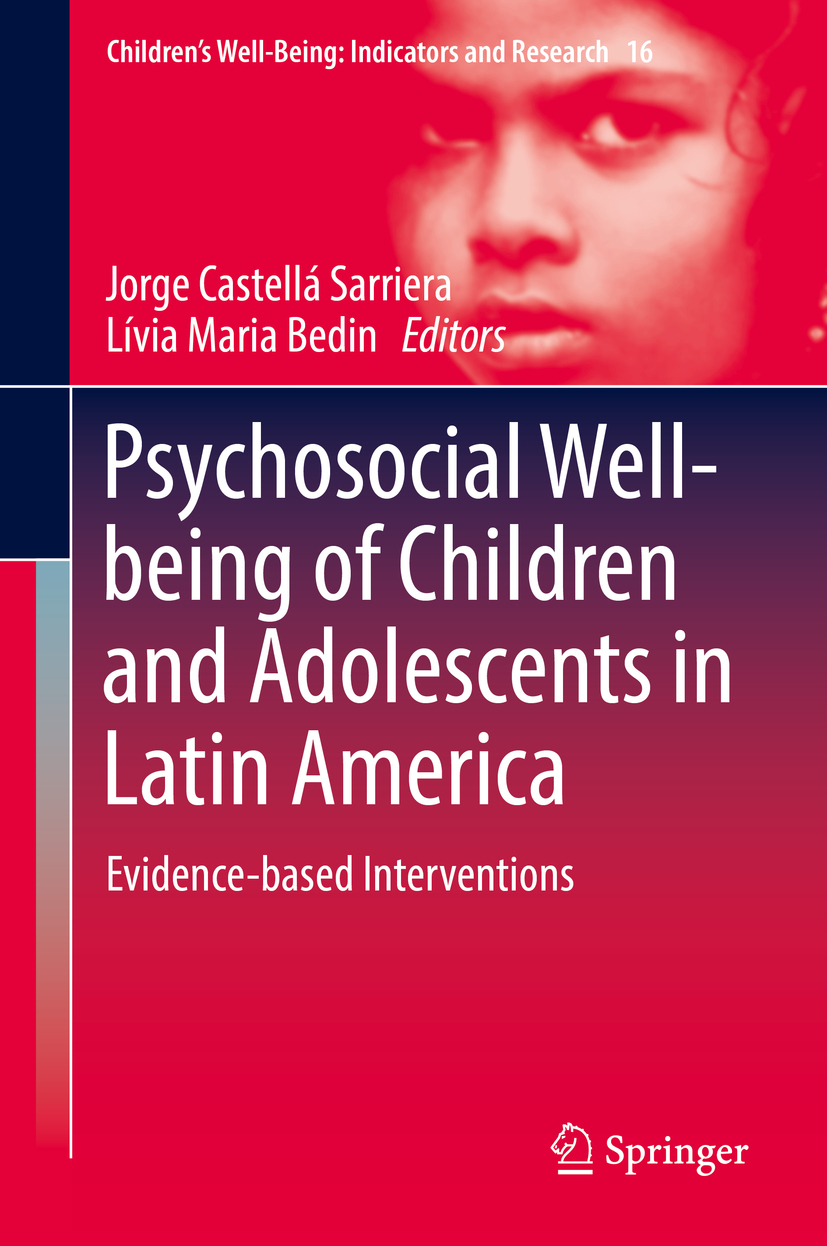 Bedin, Lívia Maria - Psychosocial Well-being of Children and Adolescents in Latin America, e-bok