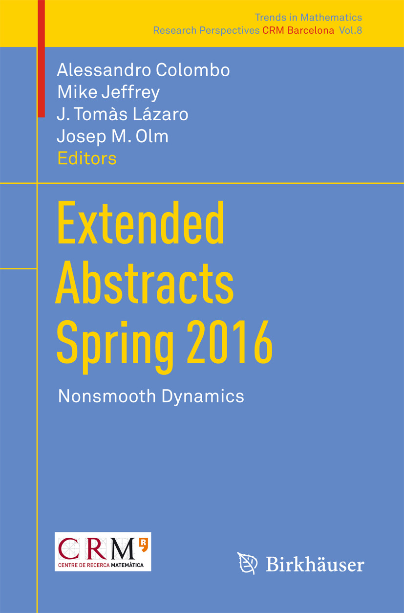 Colombo, Alessandro - Extended Abstracts Spring 2016, ebook