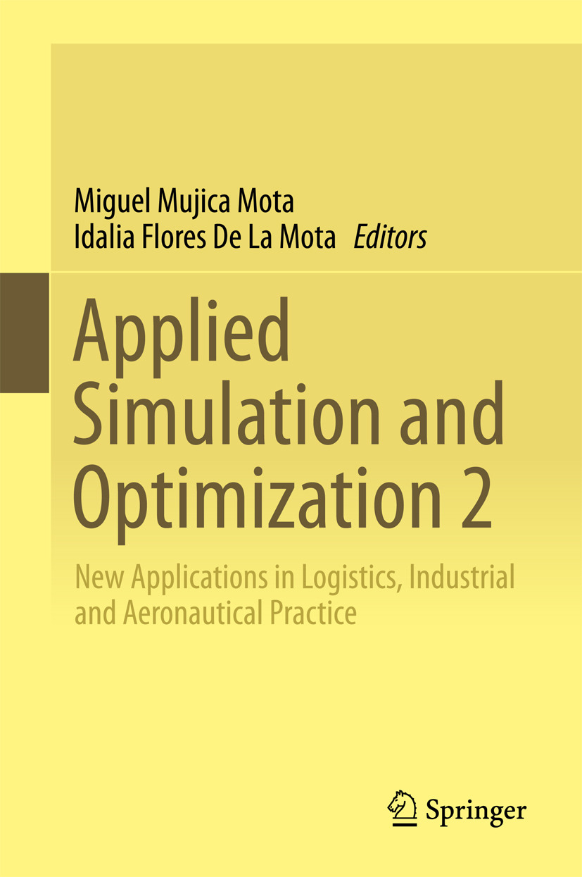 Mota, Idalia Flores De La - Applied Simulation and Optimization 2, ebook