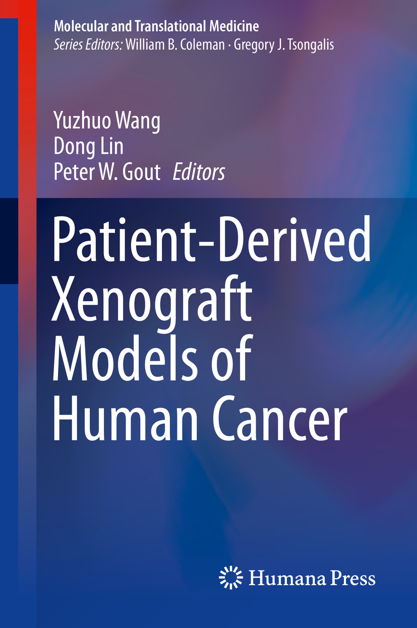 Gout, Peter W. - Patient-Derived Xenograft Models of Human Cancer, ebook