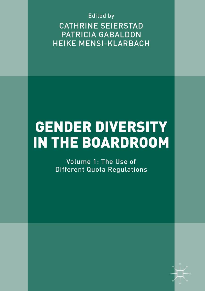 Gabaldon, Patricia - Gender Diversity in the Boardroom, ebook