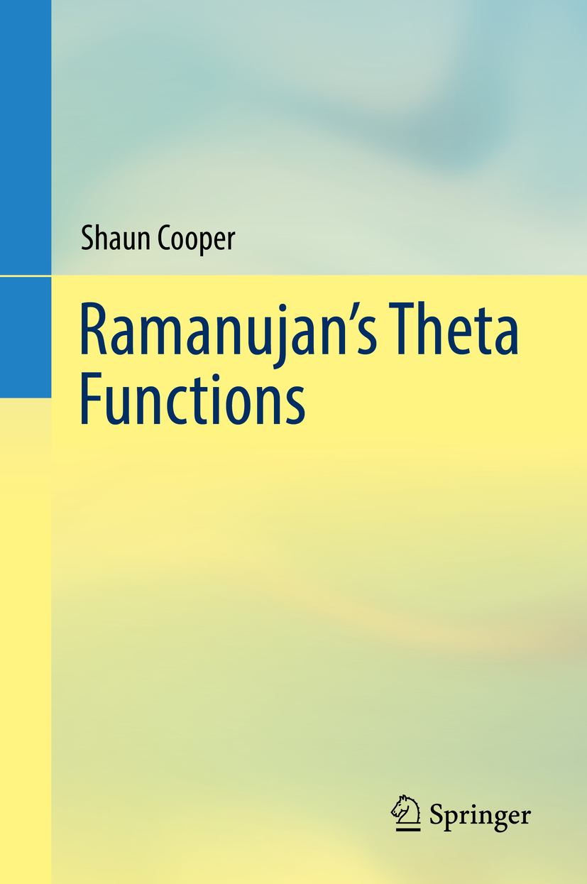 Cooper, Shaun - Ramanujan's Theta Functions, ebook