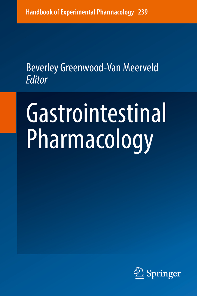 Meerveld, Beverley Greenwood-Van - Gastrointestinal Pharmacology, ebook