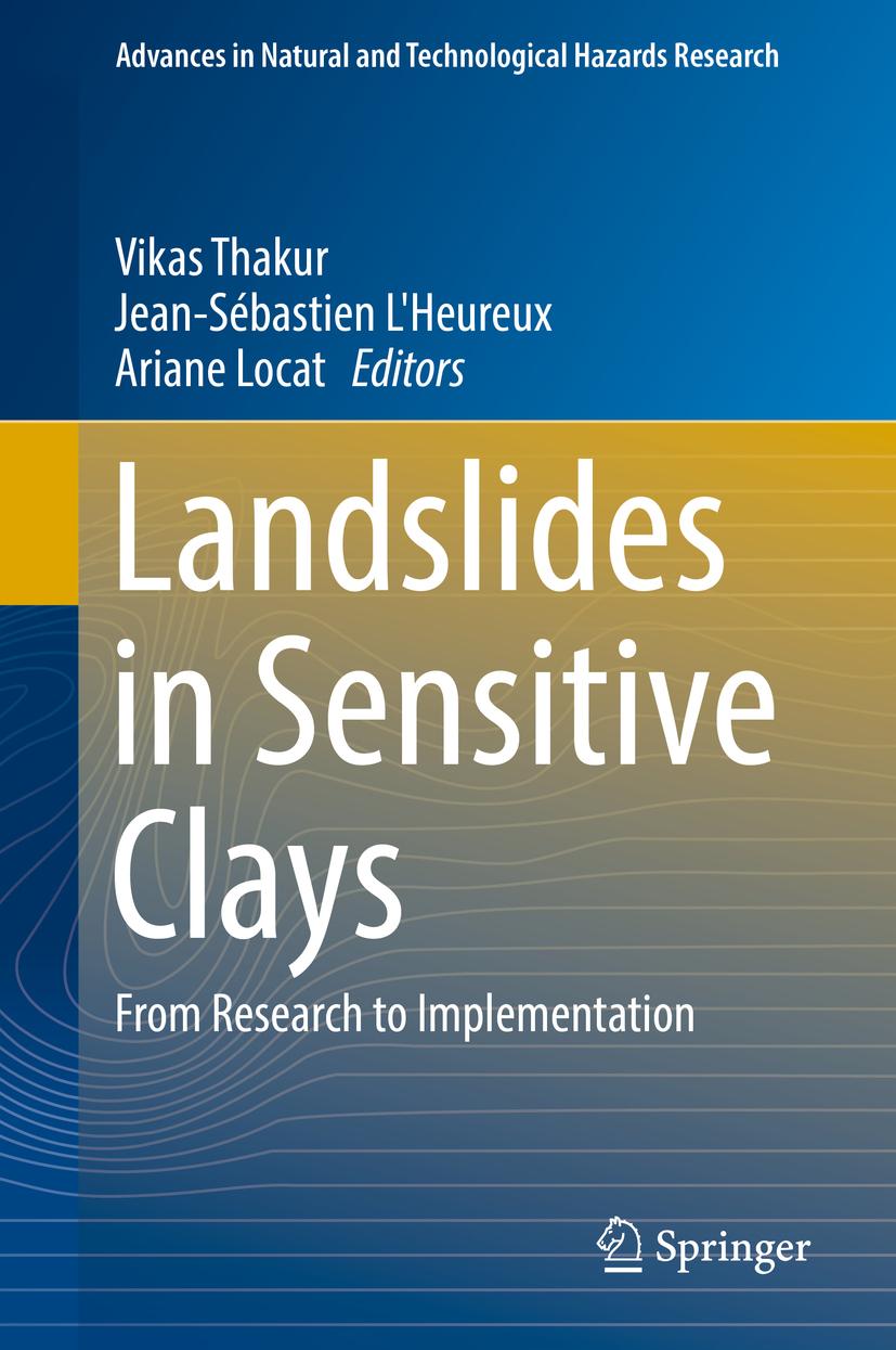 L'Heureux, Jean-Sébastien - Landslides in Sensitive Clays, ebook