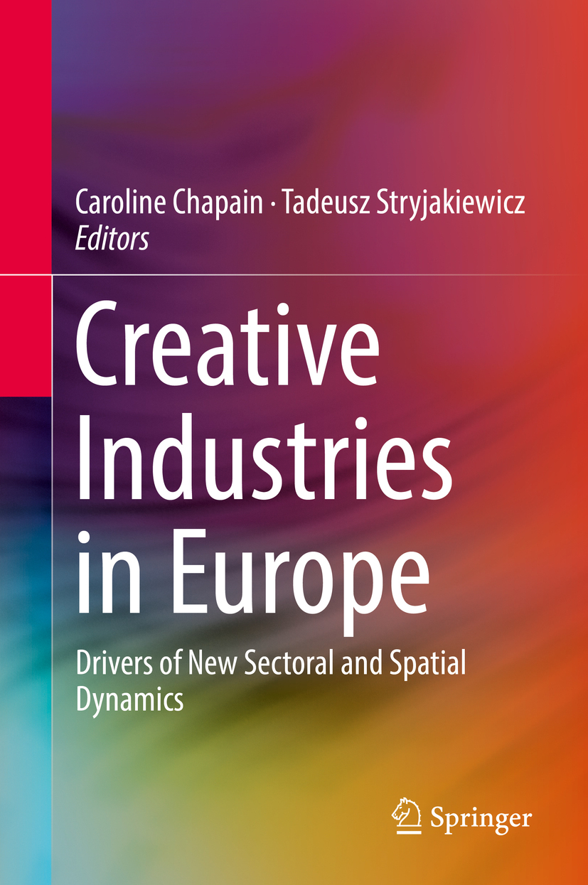 Chapain, Caroline - Creative Industries in Europe, ebook