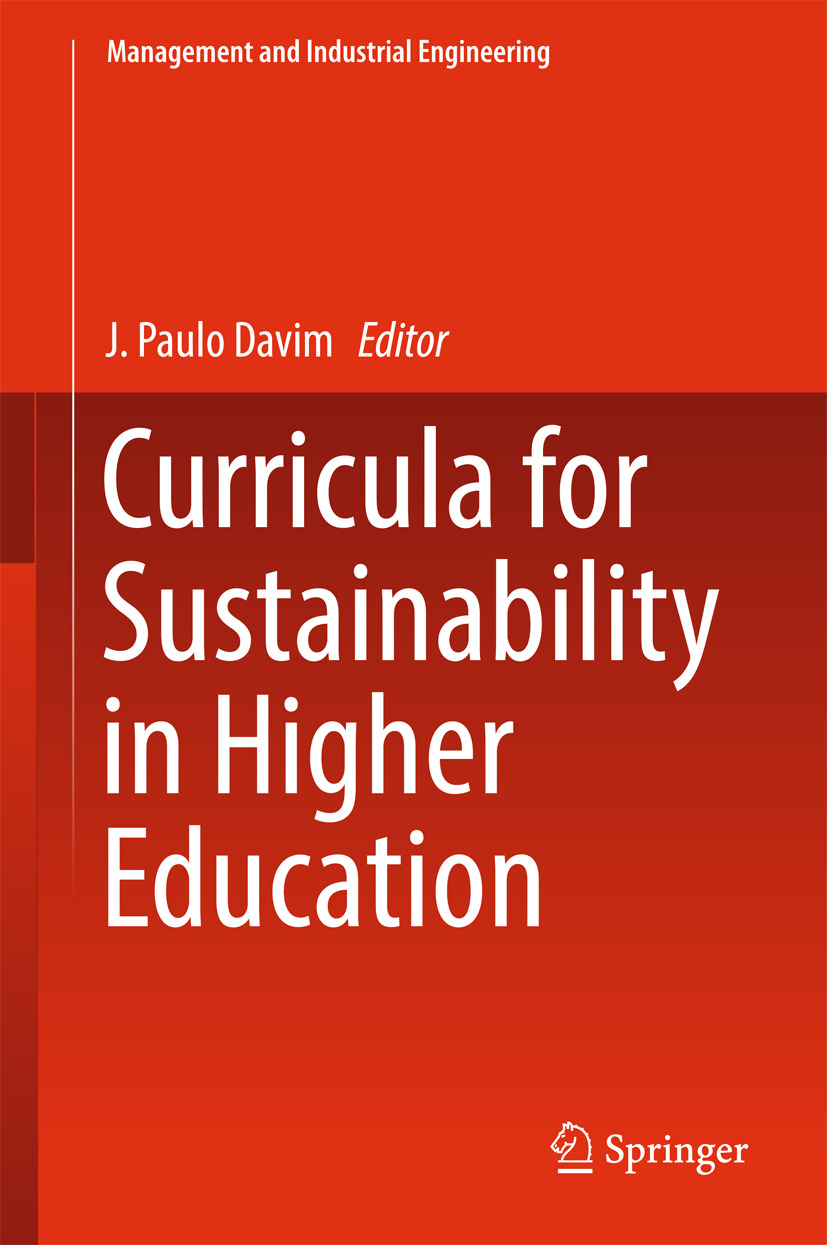 Davim, J. Paulo - Curricula for Sustainability in Higher Education, ebook