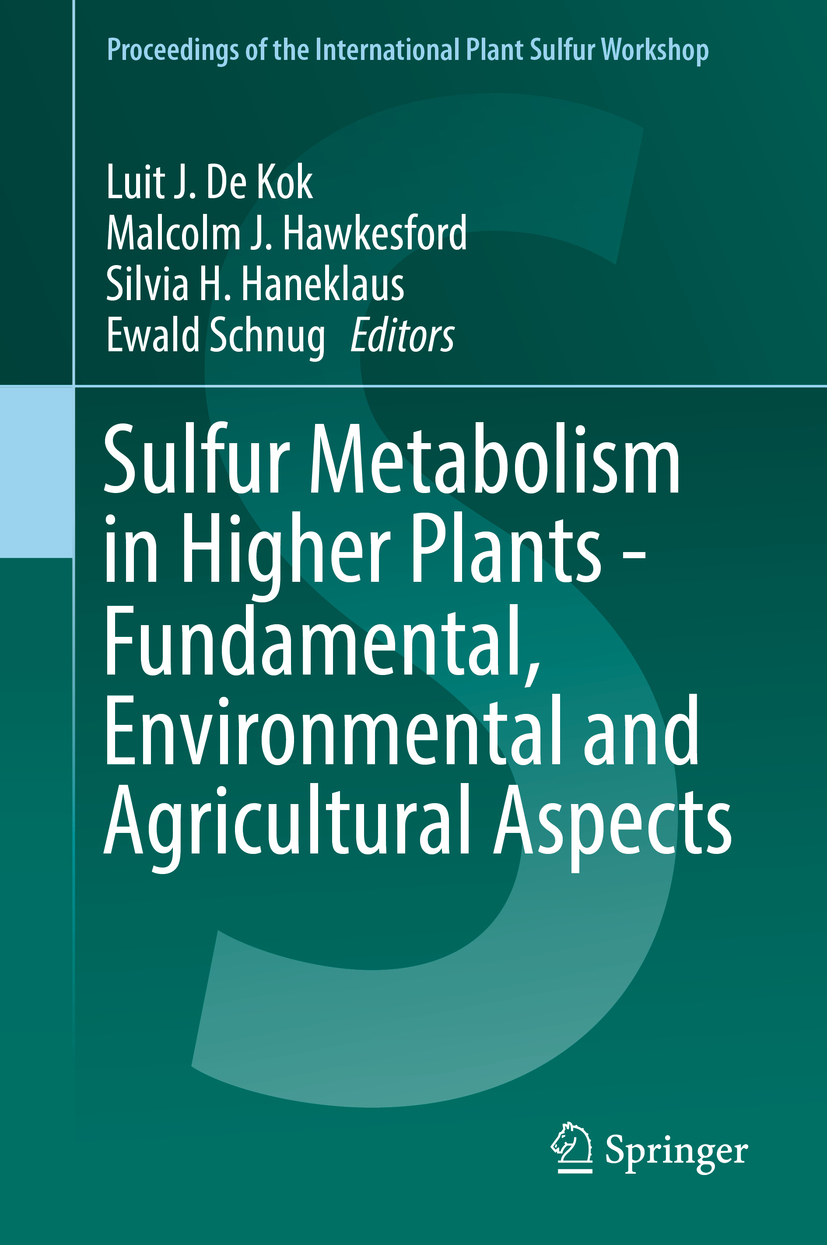 Haneklaus, Silvia H. - Sulfur Metabolism in Higher Plants - Fundamental, Environmental and Agricultural Aspects, ebook