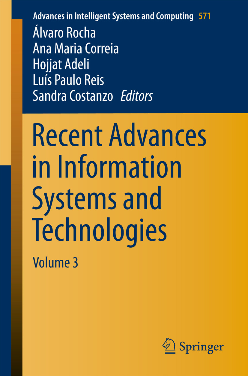 Adeli, Hojjat - Recent Advances in Information Systems and Technologies, ebook