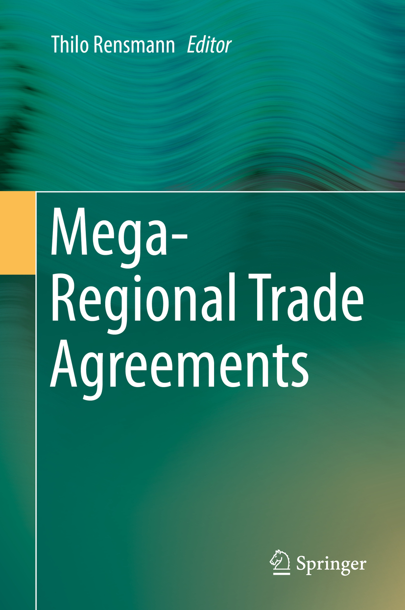 Rensmann, Thilo - Mega-Regional Trade Agreements, e-kirja