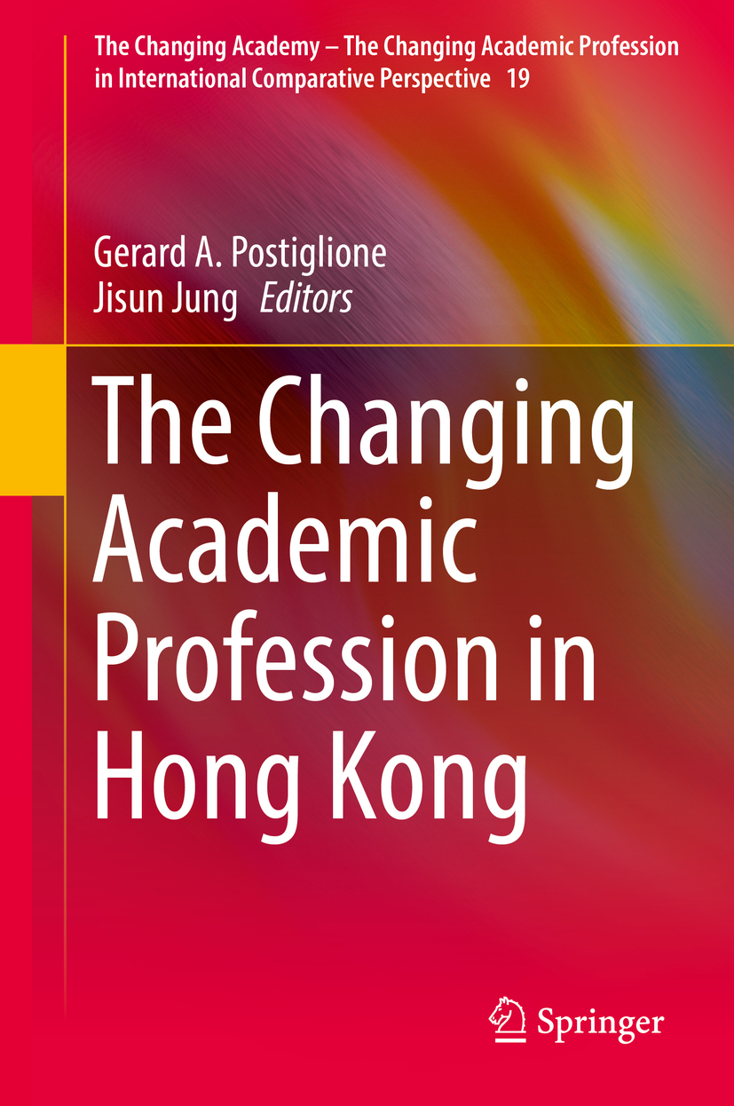 Jung, Jisun - The Changing Academic Profession in Hong Kong, ebook