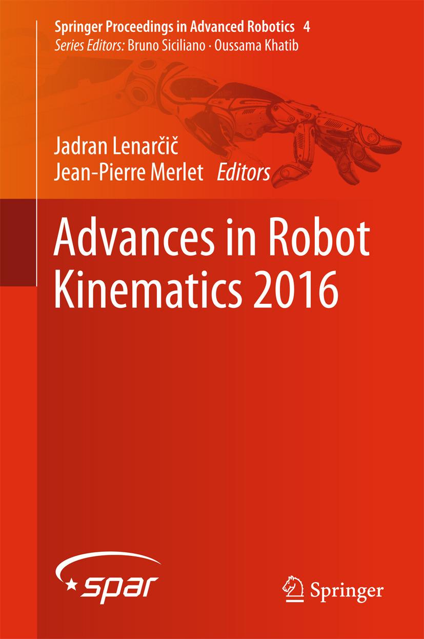 Lenarčič, Jadran - Advances in Robot Kinematics 2016, ebook