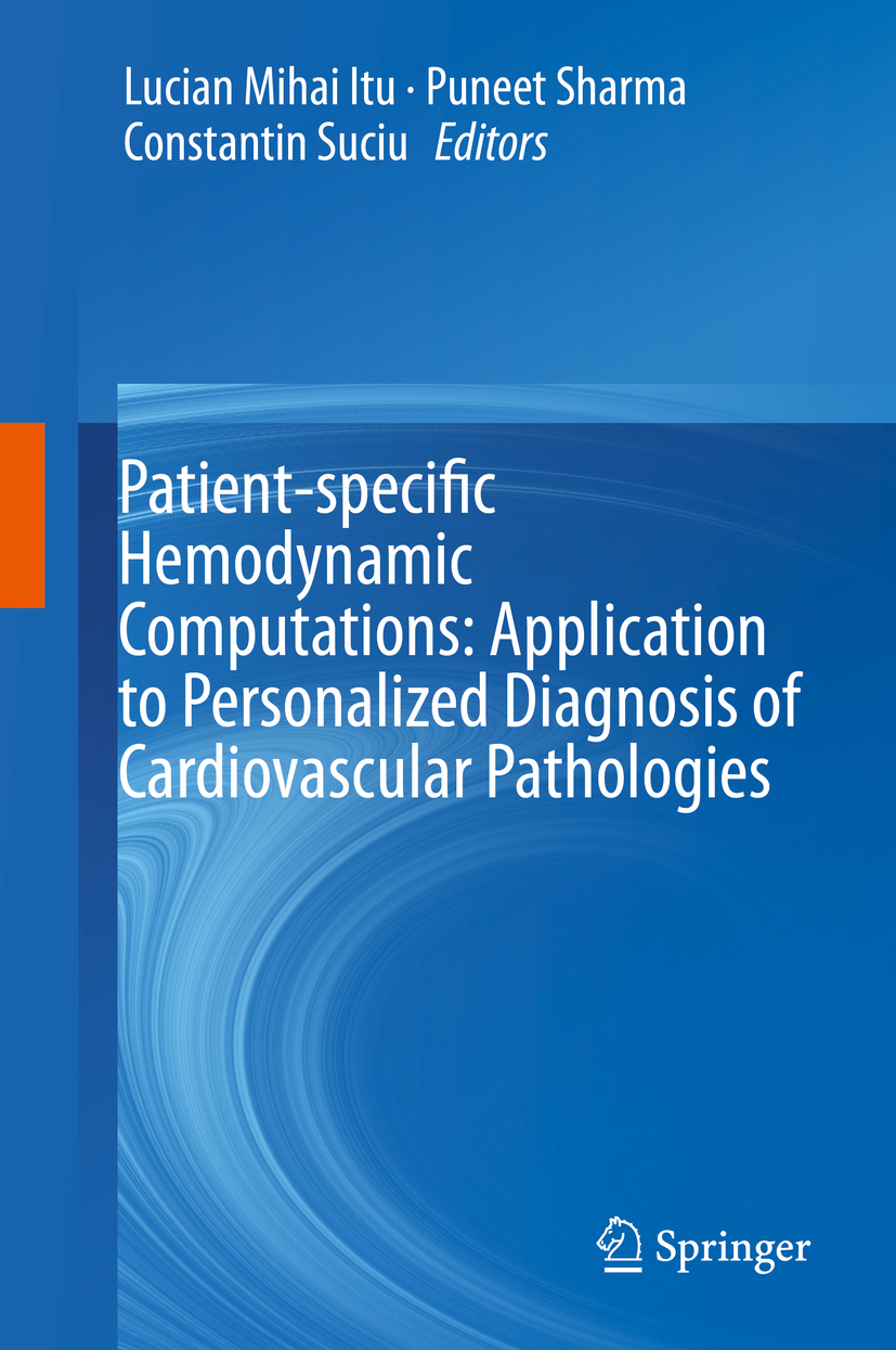 Itu, Lucian Mihai - Patient-specific Hemodynamic Computations: Application to Personalized Diagnosis of Cardiovascular Pathologies, ebook