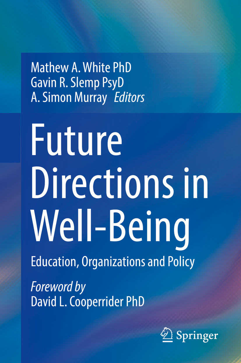 Murray, A. Simon - Future Directions in Well-Being, ebook