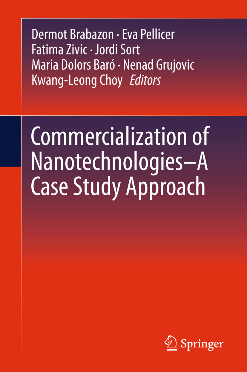 Baró, Maria Dolors - Commercialization of Nanotechnologies–A Case Study Approach, ebook
